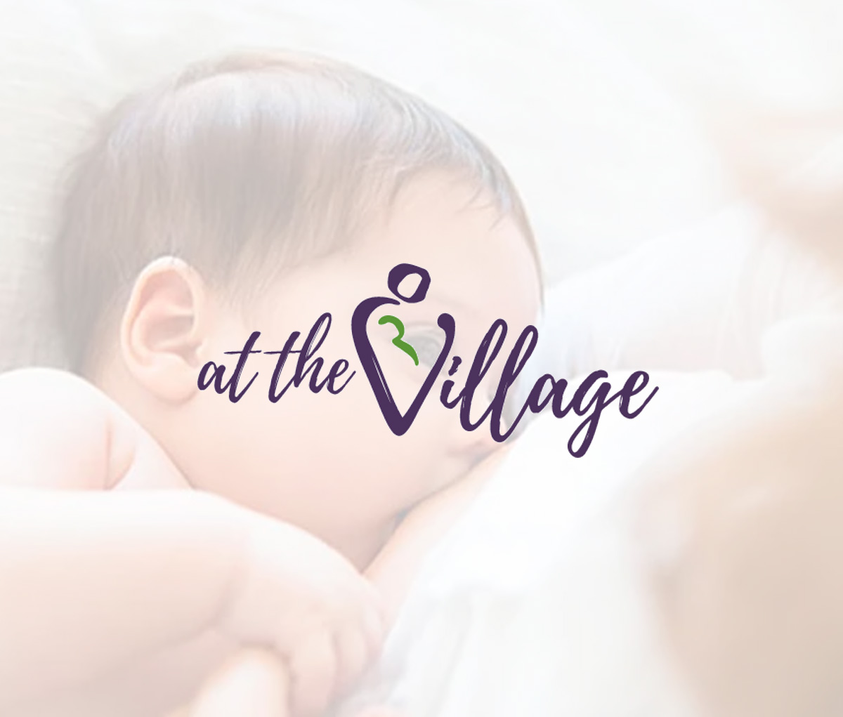 at the village